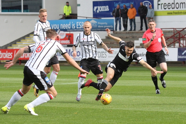 Ian McShane has struggled to find a way into the St Mirren starting lineup this season (photo: John Millar)