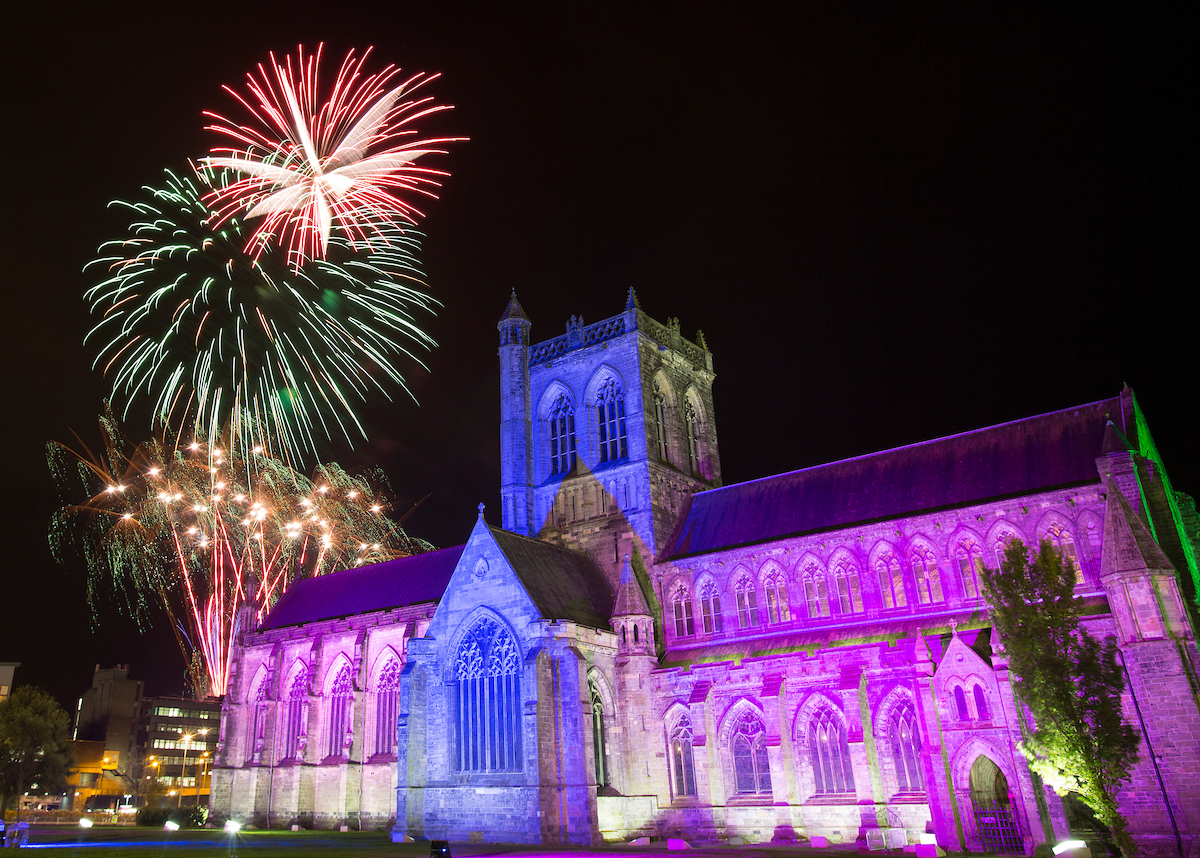 Paisley set for 90s themed fireworks spectacular