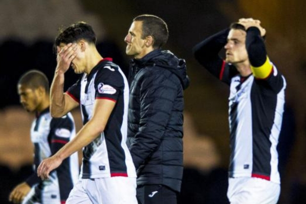 Oran Kearney's men were dumped out by the Championship opposition