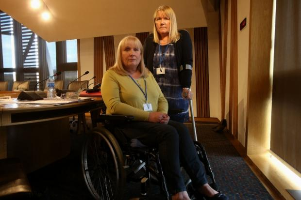 Elaine Holmes and Olive McIlroy are among those who have raised awareness of the mesh issue