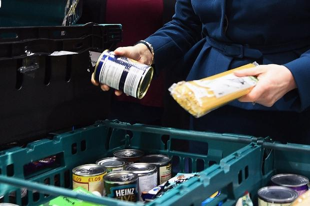 Benefits 'crisis' sparks rise in demand for help from foodbanks
