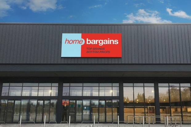 Home Bargains has a store in Johnstone