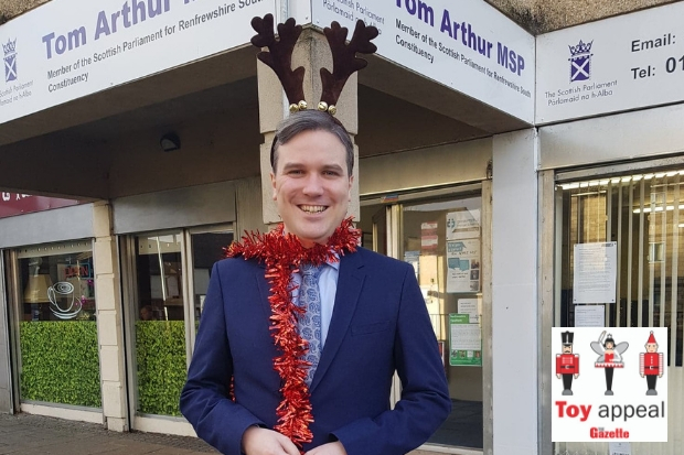 Tom Arthur is asking kind-hearted people in Renfrewshire to help make Christmas special for every child