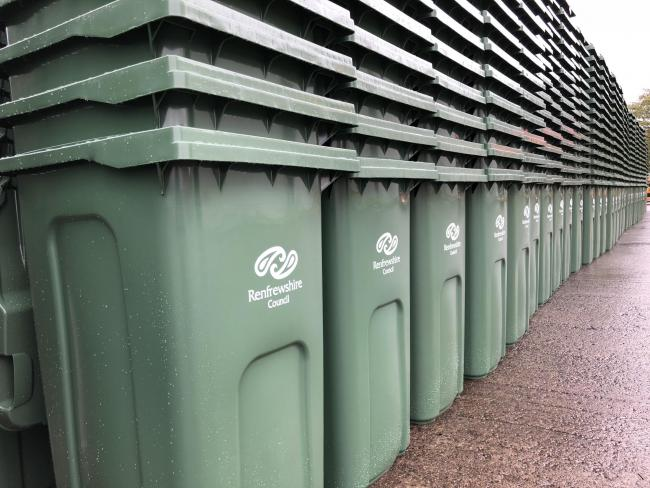 Less waste sent to landfill after bin changes