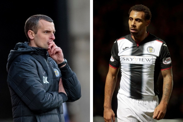Oran Kearney and Anton Ferdinand (photos: Allan Picken)