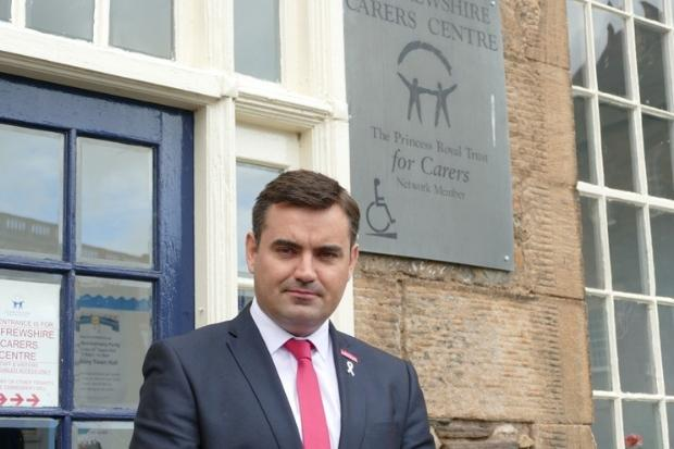 I hold surgeries at Renfrewshire Carers' Centre on the last Friday of each month