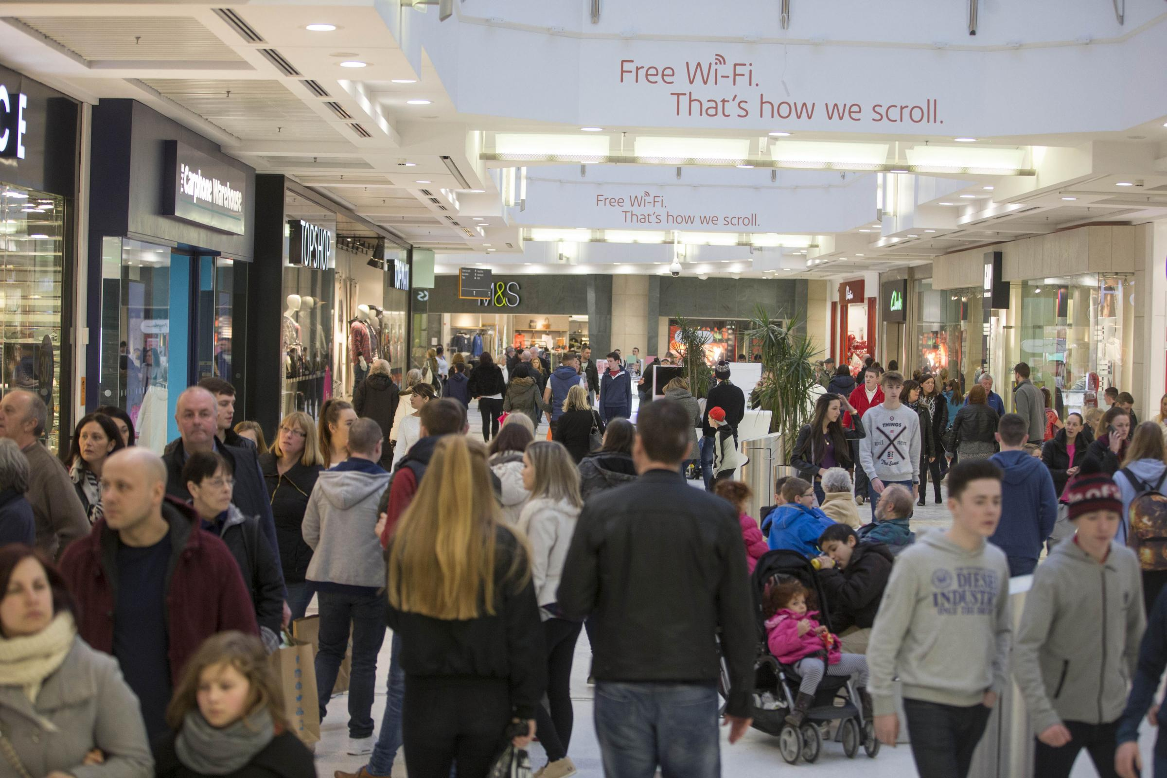 intu Braehead was recently voted as Scotland's best shopping centre
