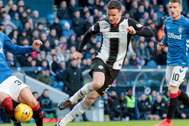 McGinn levelled against Well but saw his strike cancelled out with three minutes remaining