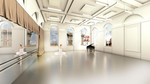 The Gazette: The new dance studio to be built in currently-unused space