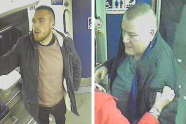 Do you know them? Police tracing two men after incidents on Glasgow train left man in hospital
