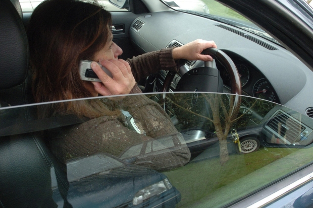Drivers who use a mobile phone while they are behind the wheel are among those being targeted in the week-long crackdown