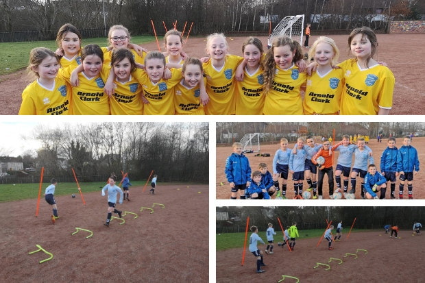 Primary school kids ready to take on competition  with brand new strips