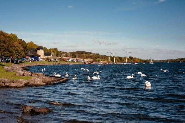 Castle Semple Loch is among the village's top attractions
