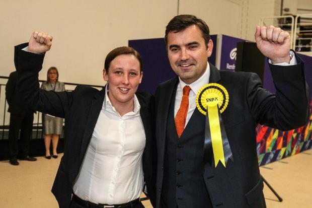 It is predicted Mhairi Black and Gavin Newlands will retain their seats