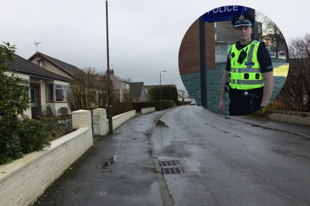 Inspector Jim Cast said officers will be out in 'full force' after a number of incidents in the town, including in Auchengreoch Avenue where a woman was tied up and robbed in her own home