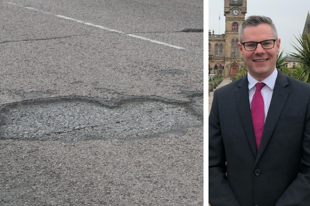 I am pleased Renfrewshire Council is to invest record amounts in fixing the area's roads