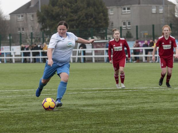 The Gazette: Claire Rae firing Frew into the final with a hat-trick against the Dons