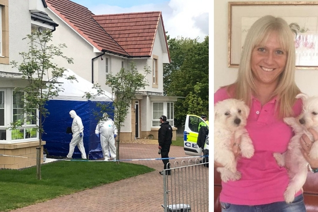 Cops have been searching a home in Monkton, near Prestwick, as they continue to search for Emma (photo: Ayr Advertiser)