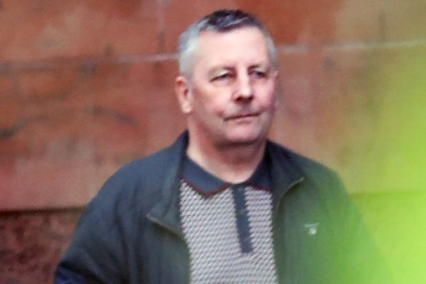 Douglas Carruthers was detained by police at the weekend