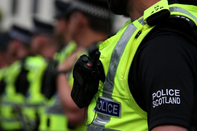Police hunt firebugs after car torched in Johnstone